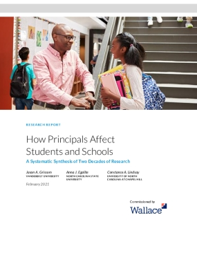 How Principals Affect Students and Schools: A Systematic Synthesis of Two Decades of Research