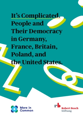 It's Complicated: People and Their Democracy in Germany, France, Britain, Poland, and the United States